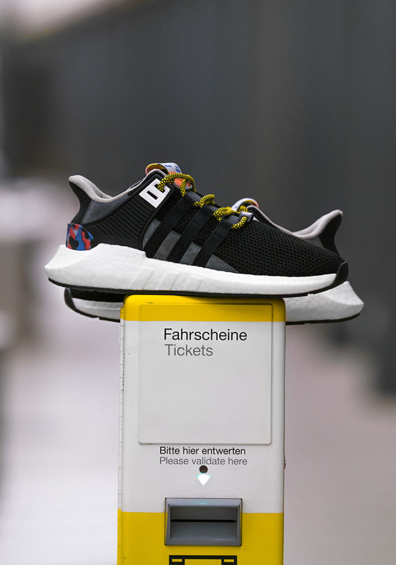best service 674db 246cc adidas EQT Support 9317 Boost BVG Berlin Verkehrsbetriebe ..