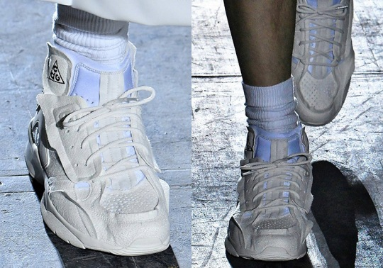COMME des Garcons Homme Reveal Nike Air Mowabb Collaboration
