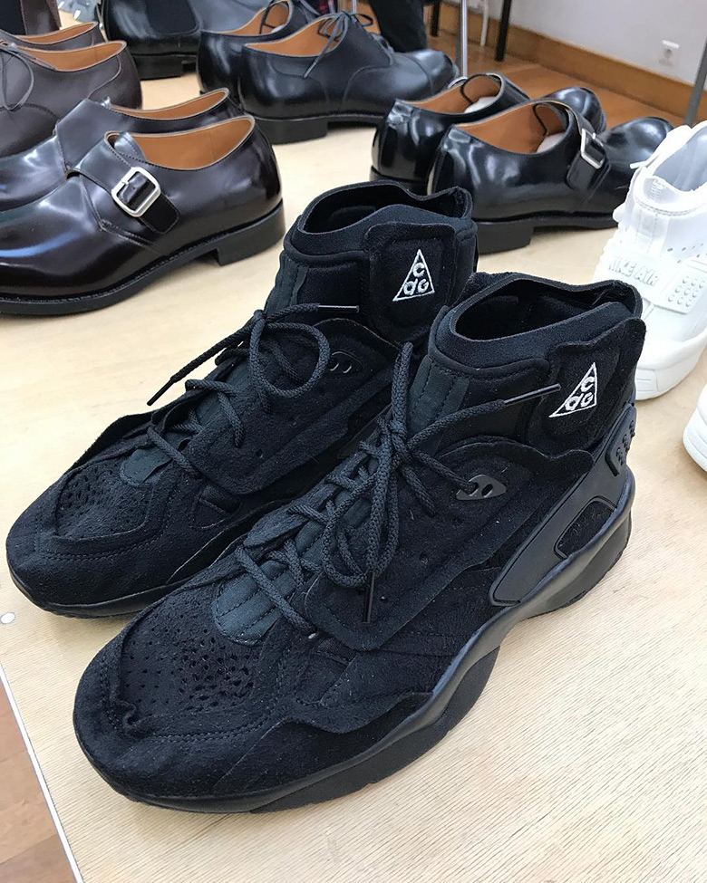big sale b86f4 d99b8 Keep it locked to Sneaker News for updates regarding the COMME des Garcons  x Nike Air Mowabb.