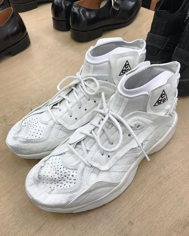 new product 61b0a ad764 Keep it locked to Sneaker News for updates regarding the COMME des Garcons  x Nike Air Mowabb. Advertisement. Photos  alexandra unitedlegend