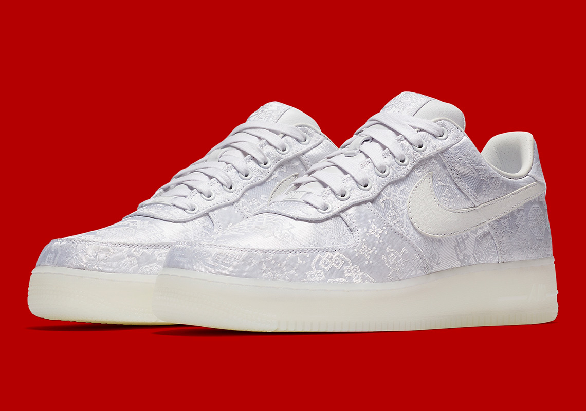 timeless design ee63d 4d057 Official Images Of The CLOT x Nike Air Force 1