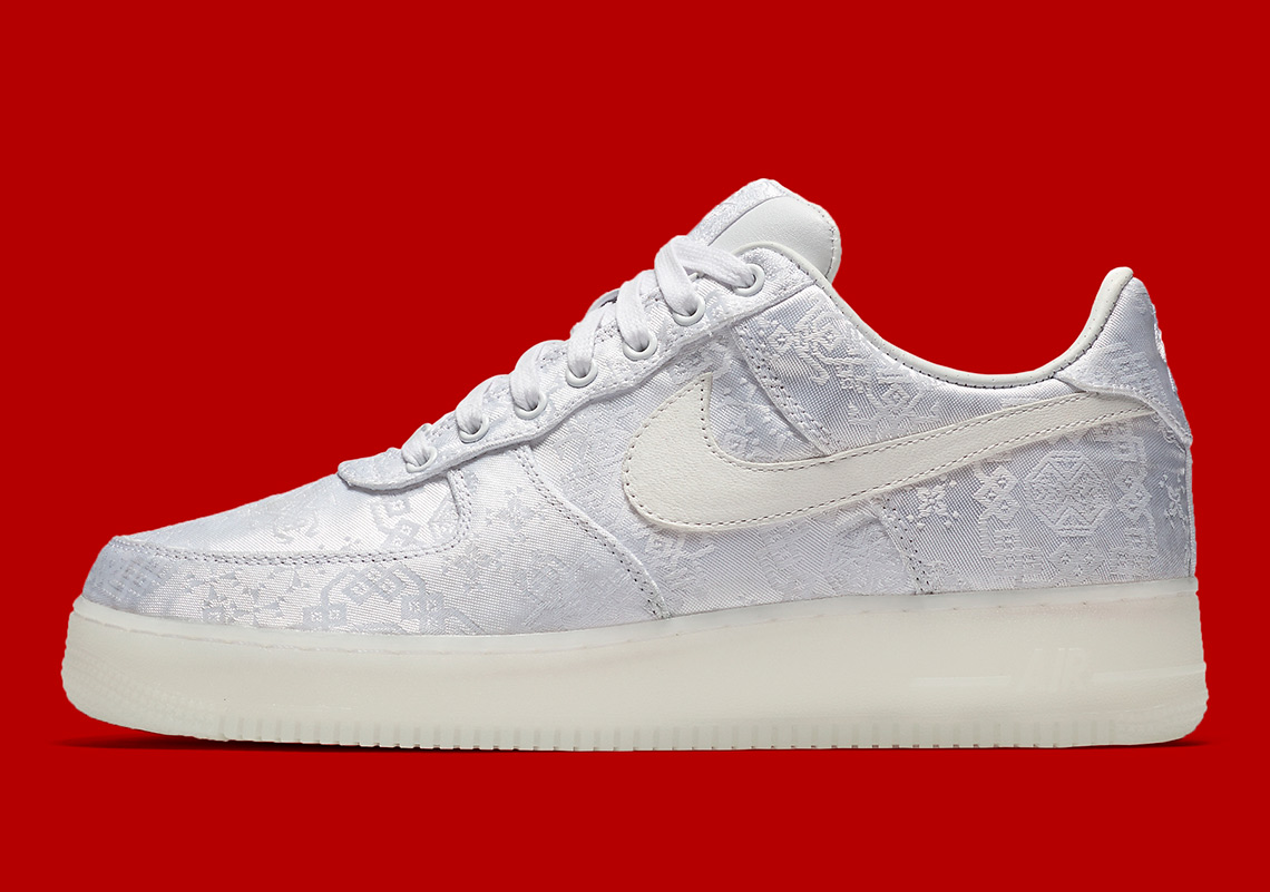Official Images Of The CLOT x Nike Air Force 1