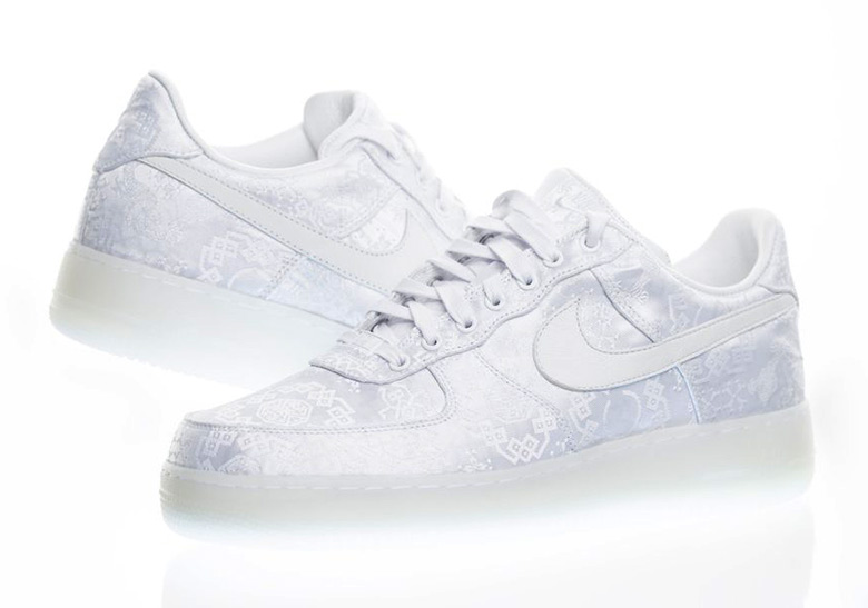 CLOT Nike Air Force 1 White Release Date |