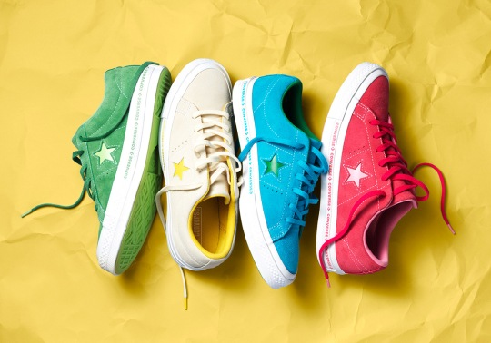 The Converse One Star Kicks Off 2018 With Several New Styles