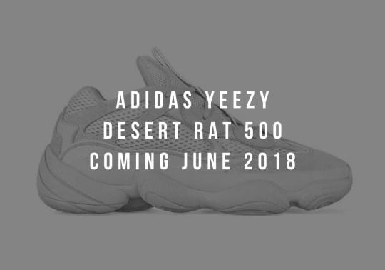 A Yeezy Desert Rat 500 Is Dropping In June