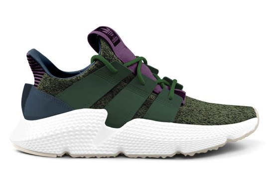 Cell Of Dragon Ball Z Featured On The adidas Prophere