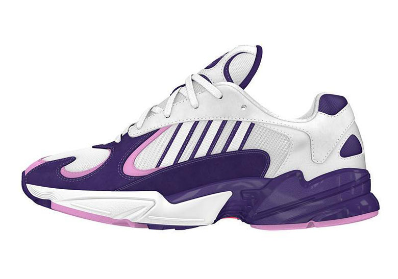 One Shoe From Dragon Ball Z x adidas Collaboration Revealed To Be New Yung 1  Sneaker 5ecd6a9f0