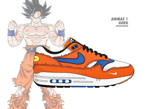 Here's What a Dragonball Z x Nike Collaboration Would Look Like