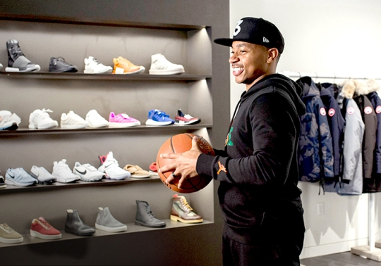 Nike Athlete Isaiah Thomas Says He Let's His Kids Wear Under Armour Curry's