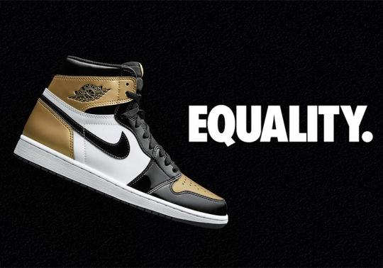 "DTLR Opens Raffle For The Air Jordan 1 ""Gold Toe"""