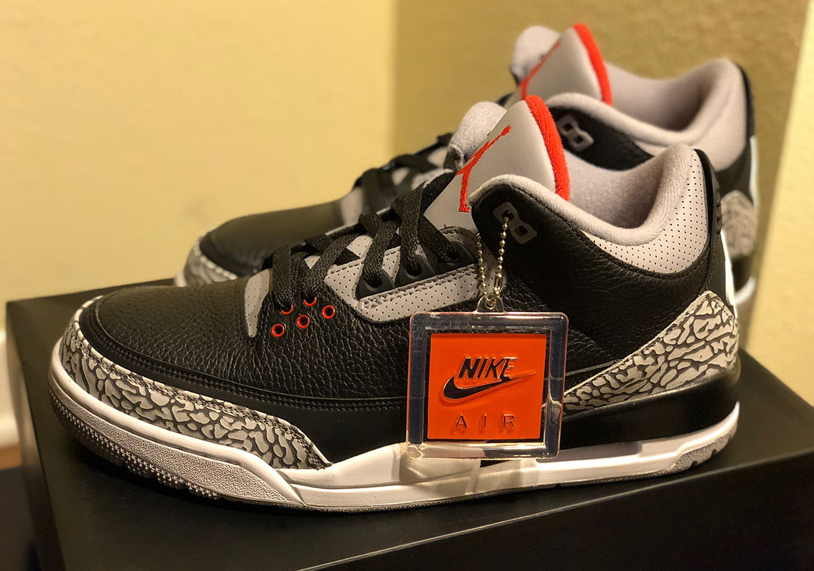 3570499ef837 Jordan 3 Black Cement February 2018 Release Date 854262-001 ...