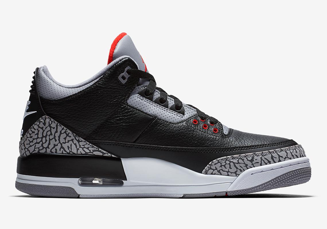 0d3aafeedb2 Jordan 3 Black Cement Official Images - 2018 Release Info ...