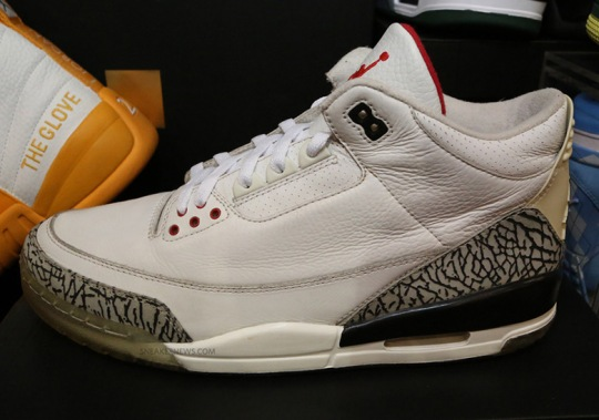 "The Famed Air Jordan 3 ""Clear Sole"" Sample Is Releasing During All-Star Weekend"