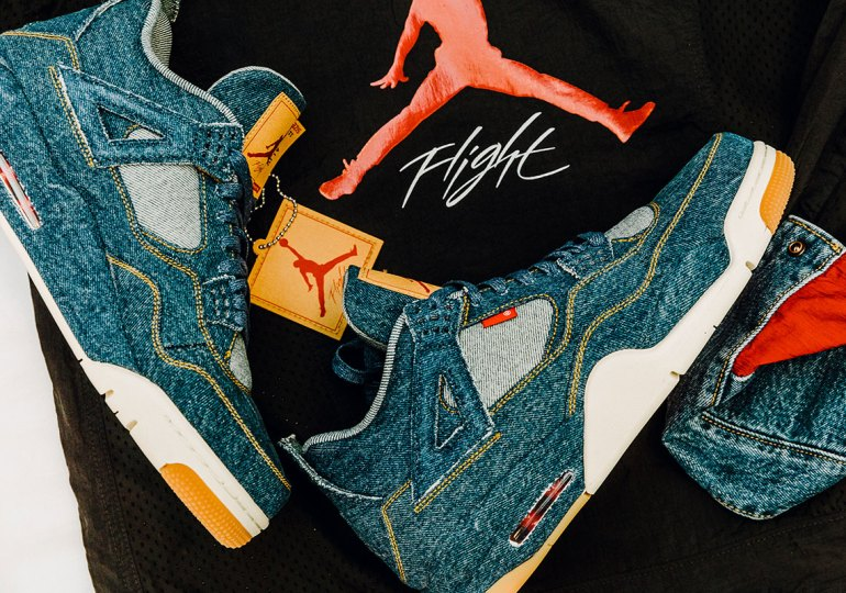 Where To Buy The Levi's x Air Jordan 4 And Trucker Jacket