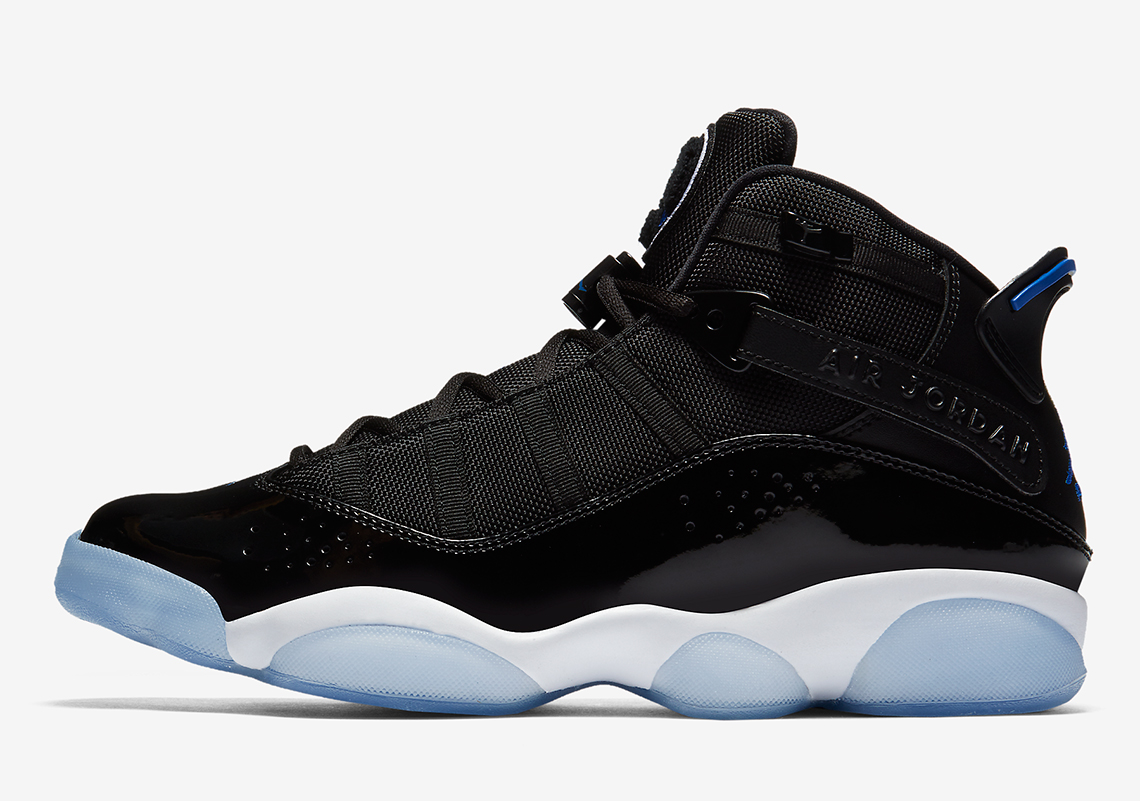 66222393a34df0 Jordan 6 Rings AVAILABLE NOW AT Sneakersnstuff  165. Color  Black Hyper  Royal-White