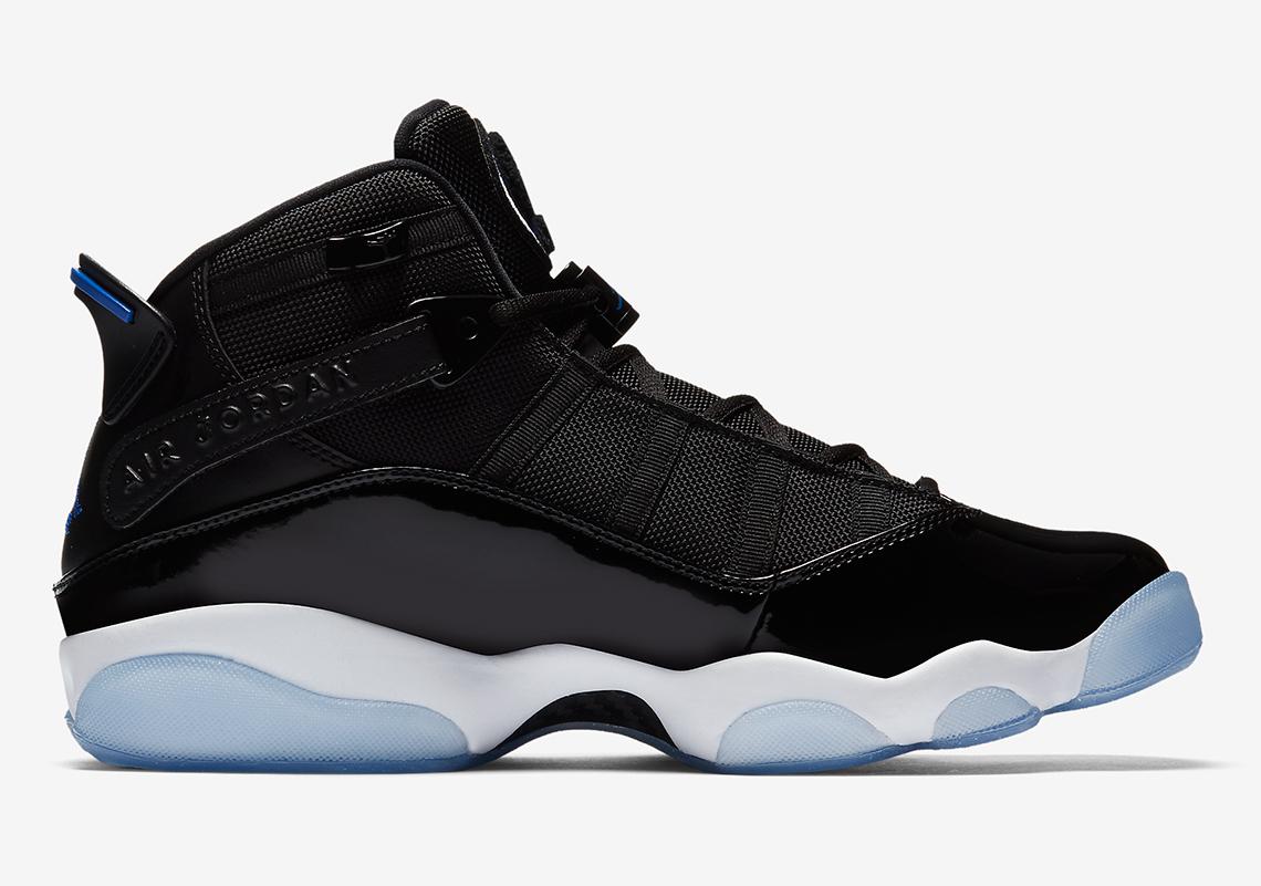 Jordan 6 Rings AVAILABLE NOW AT Sneakersnstuff  165. Color  Black Hyper  Royal-White cbddc65d59
