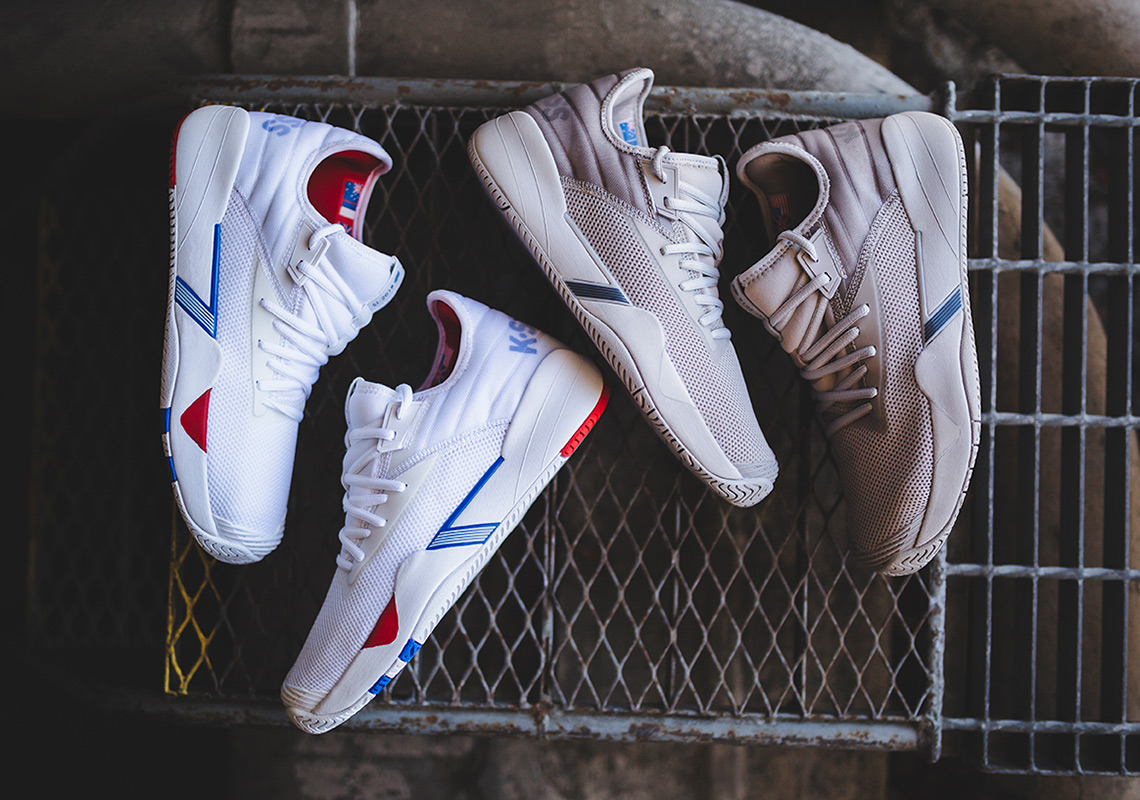 b07a30a117e9 ... the SI-2018 offers up a fluid intersection of past and present. Check  out the new SI-2018 below and get your pair now at KSwiss.com for  110.