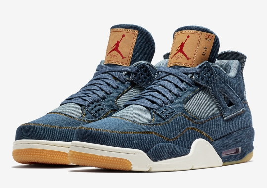 Official Images Of The Levi's x Air Jordan 4