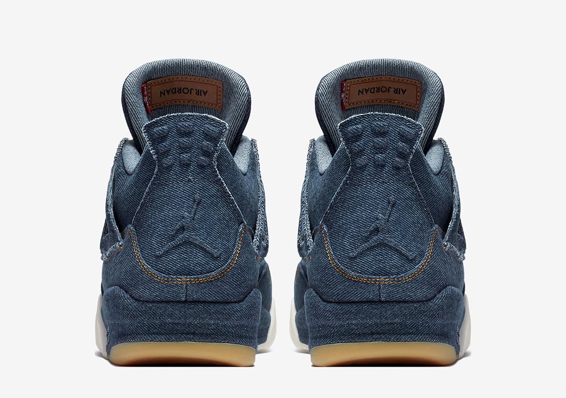 another chance b8bfc 2258f Air Jordan 4 Levis Denim AO2571-401 Official Release + Price ...