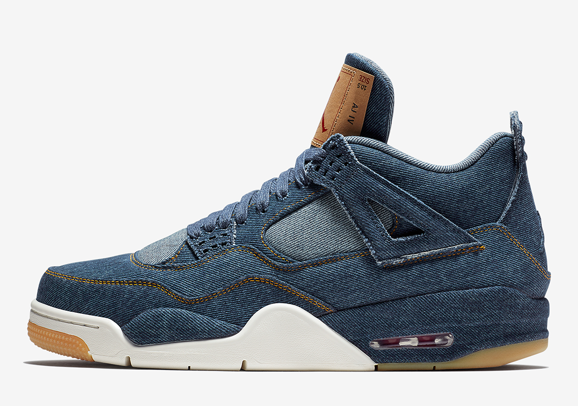 2ab69c29a153 Air Jordan 4 Levis Denim AO2571-401 Official Release + Price Info ...