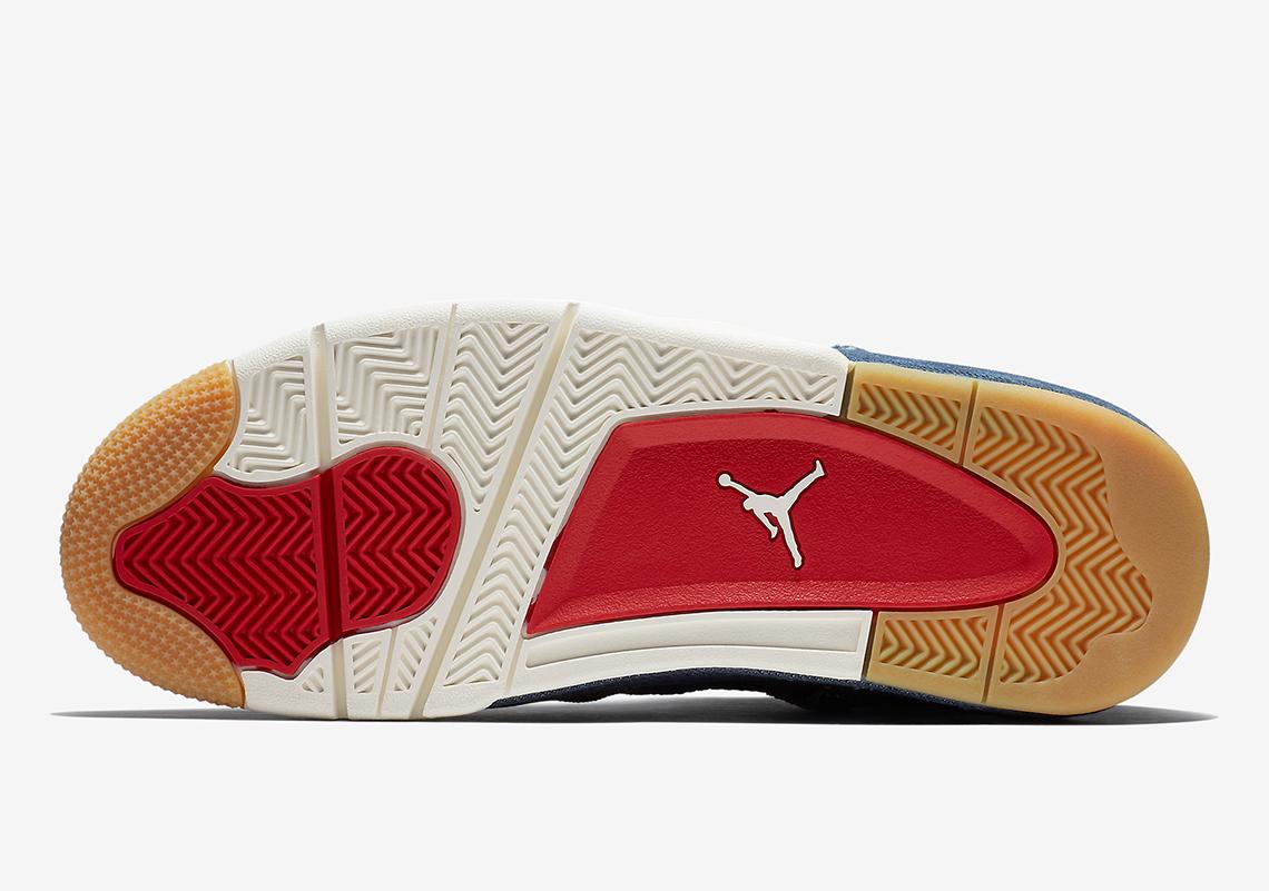 new product 51c49 cd741 Air Jordan 4 Levis Denim AO2571-401 Official Release + Price Info ...