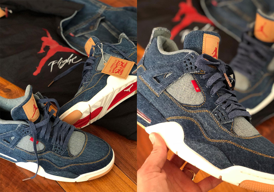 Scarpe AIR JORDAN 4 Retr Levis Denim