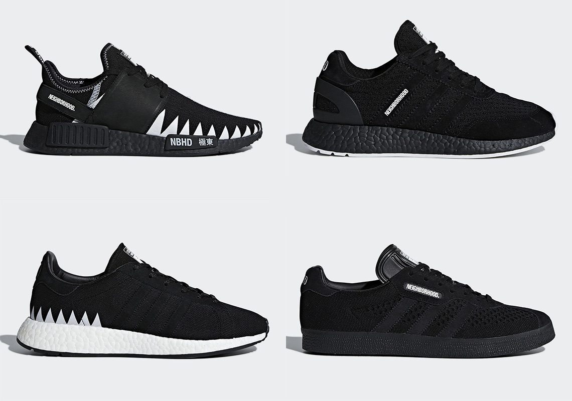 Neighborhood Shoe Four Adidas Collaboration Info Release X byYfg76