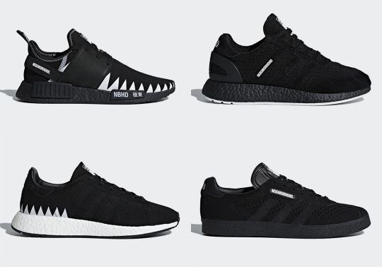 NEIGHBORHOOD and adidas Originals To Release Four Shoe Collaboration In February