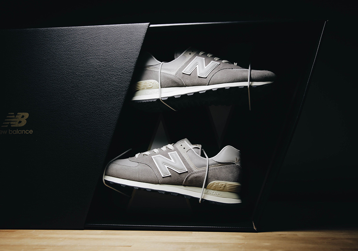 low priced 806b9 e14bb New Balance 574 Grey Friends And Family Pack | SneakerNews.com