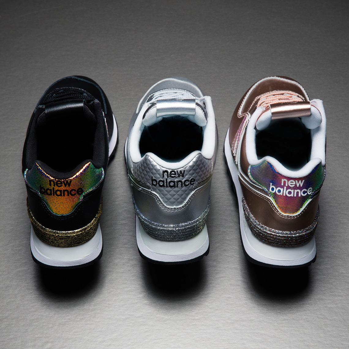 new balance glitter pack