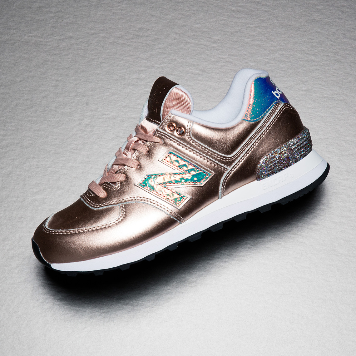 "a1964f5e0a75 Get the New Balance 574 ""Glitter Pack"" tomorrow on NewBalance.com and  select retailers."