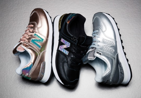 "The New Balance 574 ""Glitter Pack"" Releases Tomorrow"