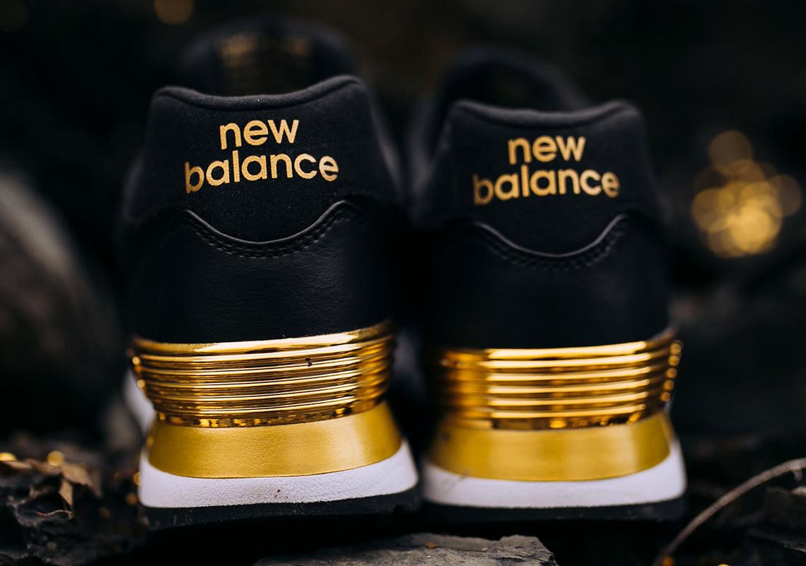 new balance 574 gold dip