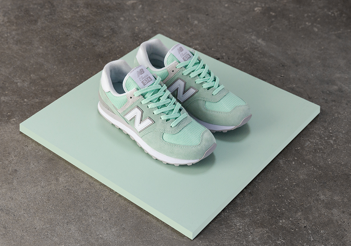 New Balance 574 Klassiske Pastell 3Mucla