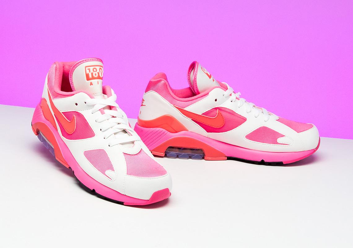 COMME des Garcons Nike Air 180 CDG AO4641-600 AO4641-601 AO4641-602 ... 55d2b4a5a