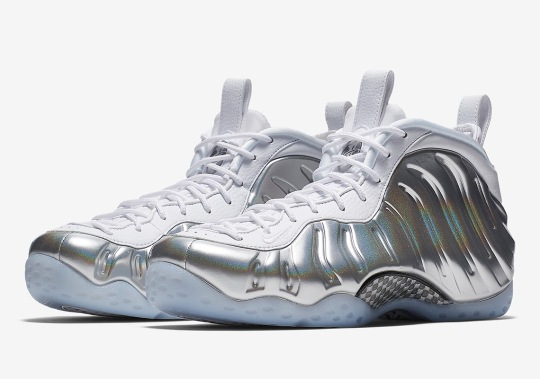 Nike Set To Release A Women's Exclusive Air Foamposite One In Matte Silver