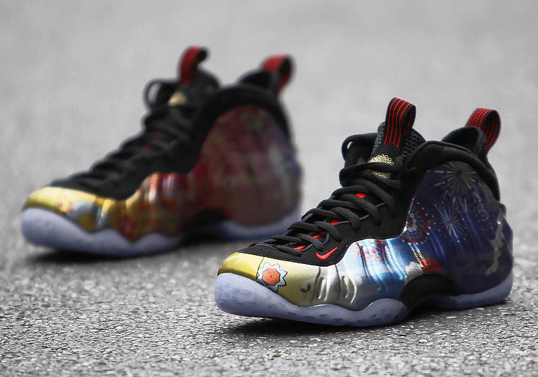544cbaef542aa ... best price detailed look at the nike air foamposite one chinese new  year cd5f9 6e30c ...