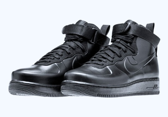 "The Nike Air Force 1 Foamposite Releasing In ""Triple Black"""