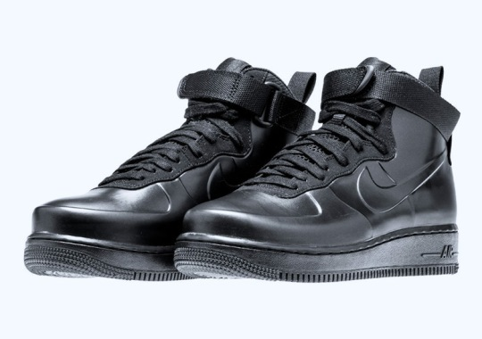 "256b2bc6770cc The Nike Air Force 1 Foamposite Releasing In ""Triple Black"""