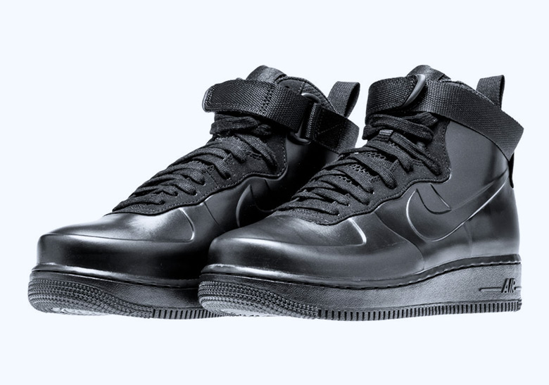 "check out 5b889 6956a The Nike Air Force 1 Foamposite Releasing In ""Triple Black"""