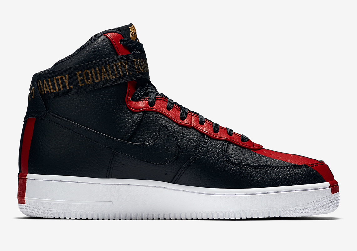 """pretty nice 4c9c0 00b2a Nike Air Force 1 High """"BHM"""" Release Date  February 1st, 2017  130. Style  Code  836227-002. Advertisement"""