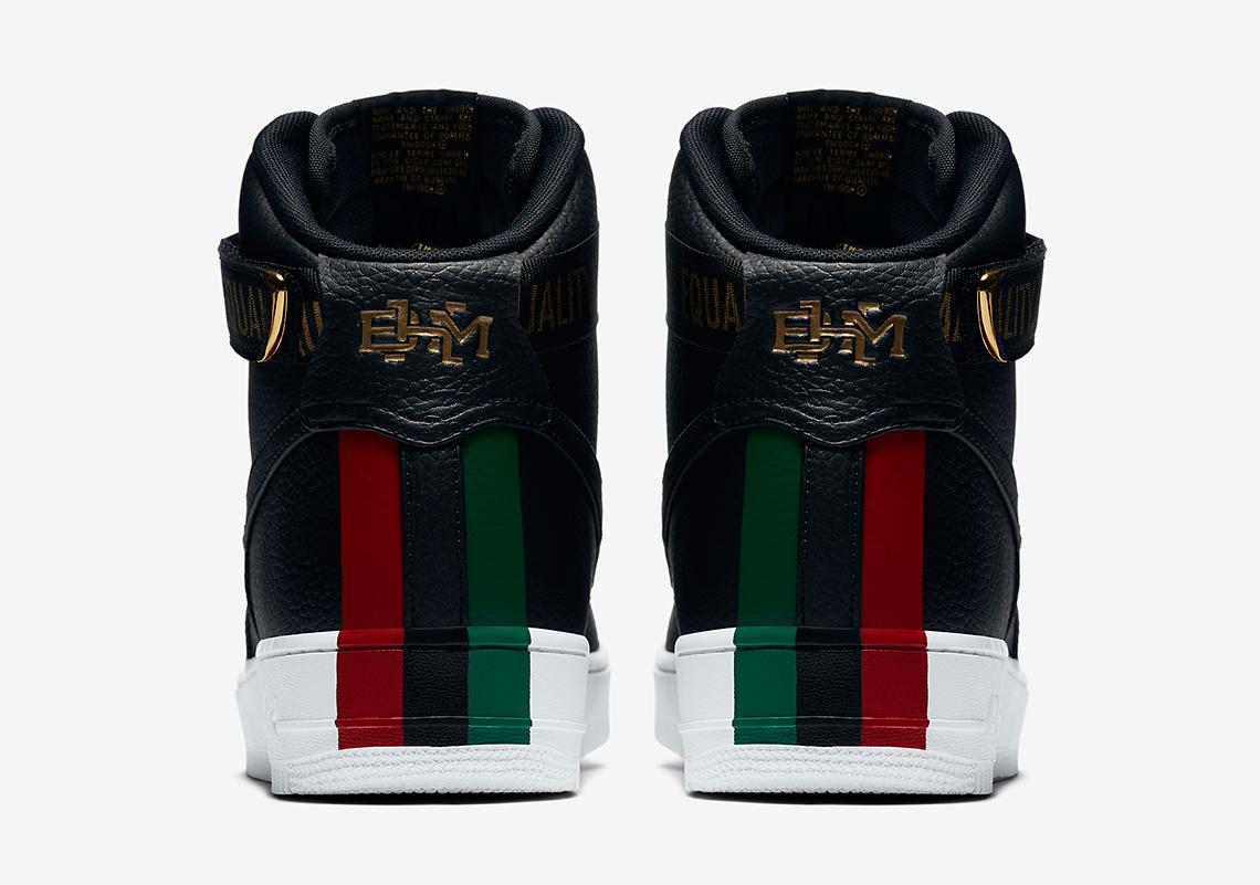 Nike Air Force 1 Hi BHM QS