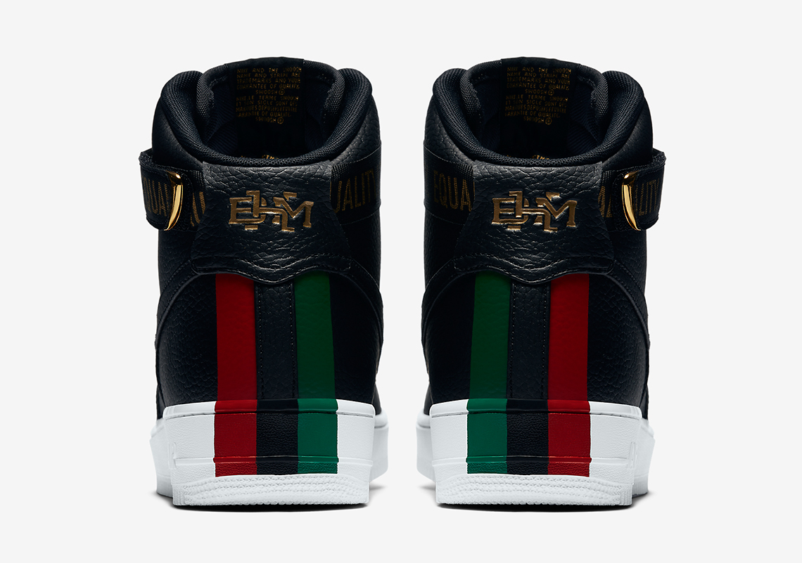 """best website 6dd3d 8c564 Nike Air Force 1 High """"BHM"""" Release Date  February 1st, 2017  130. Style  Code  836227-002. Advertisement. Advertisement"""