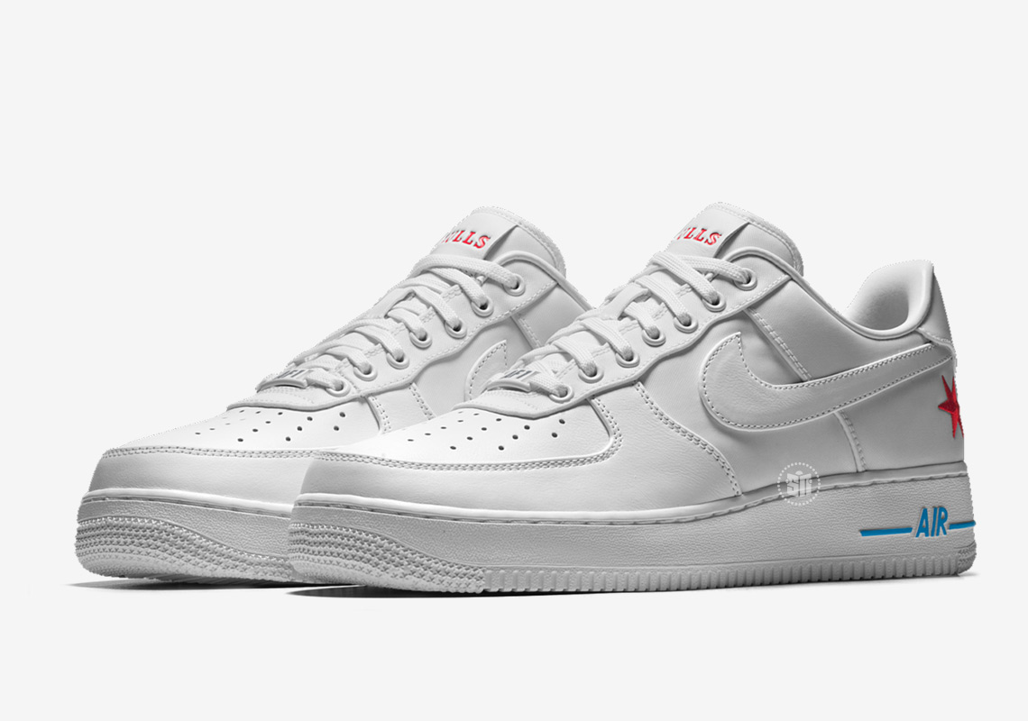 Nike NBA City Edition Design Options Nike Air Force 1 Coming Soon ...