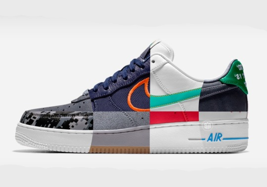 Nike's NBA City Edition Design Options Coming To The Air Force 1