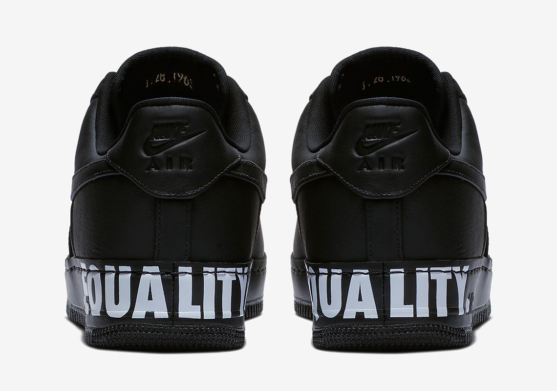 timeless design 2d101 11e94 Nike Air Force 1 EQUALITY AQ2125-001   SneakerNews.com