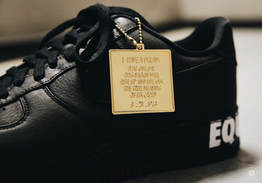 Nike Air Force 1 Low BHM Spreads Message Of Equality