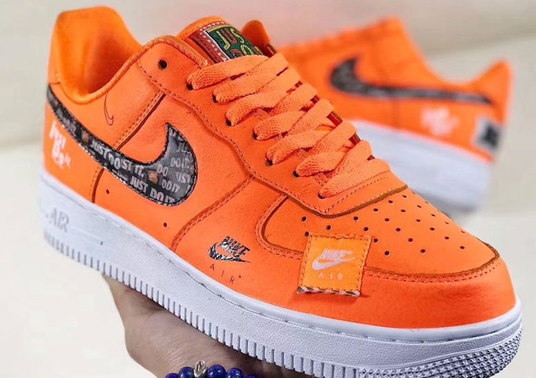 "sports shoes 933f4 74276 Nikes ""Just Do It"" Pack Features Classic Brand Logos All Over The Air  Force 1 And More"