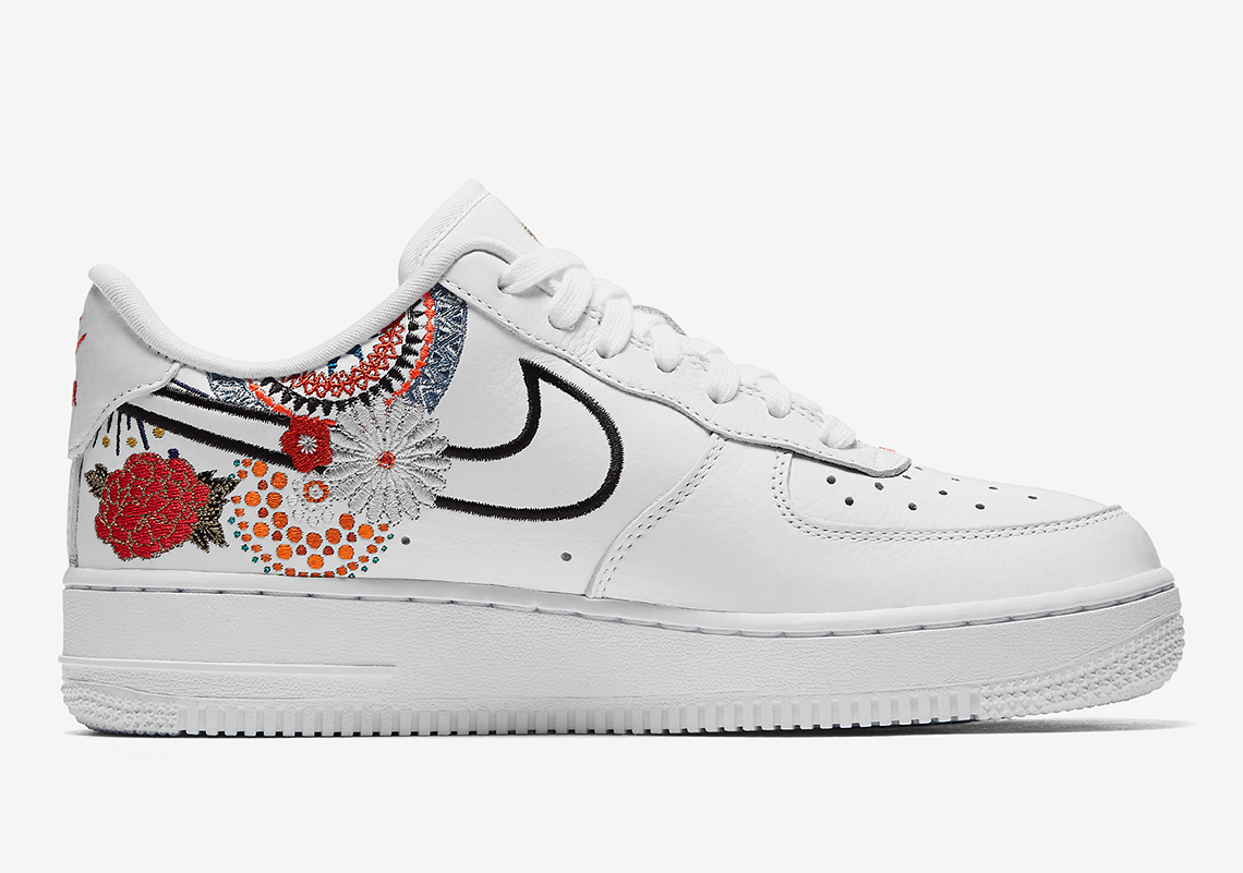 nike air force 1 low lunar new year aj8298 100 official. Black Bedroom Furniture Sets. Home Design Ideas