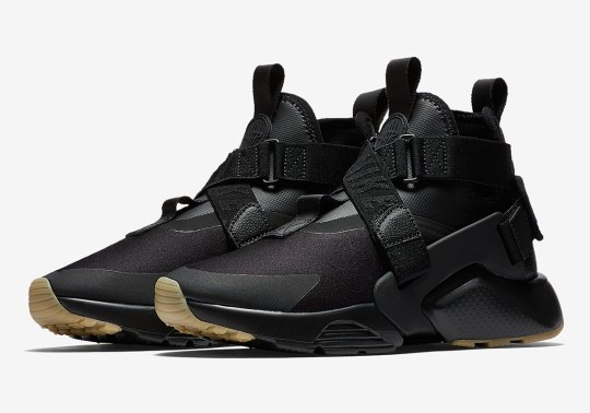 Nike Air Huarache City Appears In Black And Gum